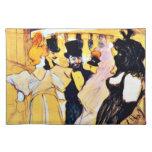 Arte de Toulouse-Lautrec: En la ópera Mantel