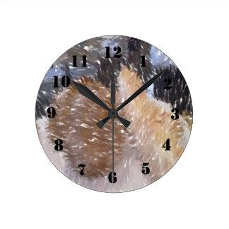 Arte de un poco de pan relojes