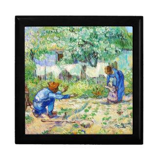 Arte de Vincent van Gogh de los primeros pasos (de Caja De Joyas