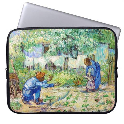 Arte de Vincent van Gogh de los primeros pasos Mangas Portátiles