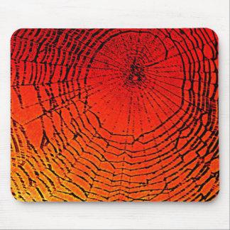 Arte de Web de araña Tapetes De Raton