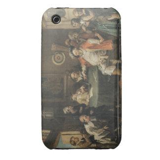 Arte de William Hogarth iPhone 3 Carcasas