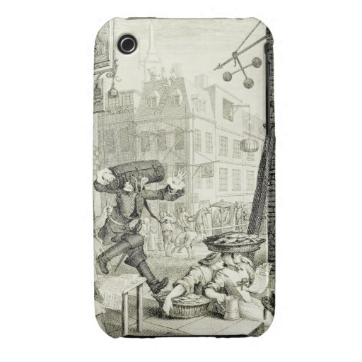 Arte de William Hogarth Case-Mate iPhone 3 Cobertura