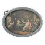 Arte de William Hogarth Hebillas De Cinturon Ovales