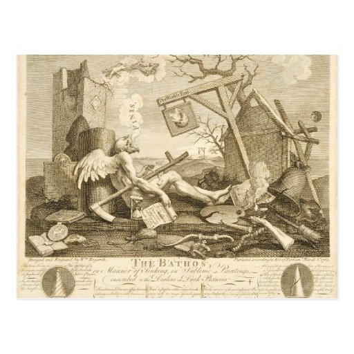 Arte de William Hogarth Tarjetas Postales