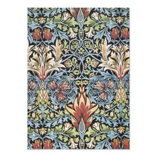 Arte de William Morris Invitación 11,4 X 15,8 Cm