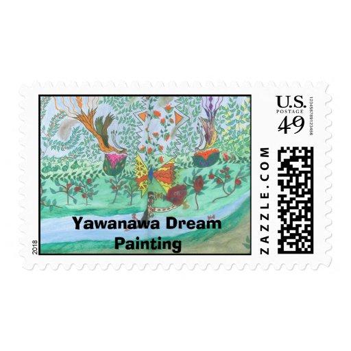 Arte de Yawanawa Timbre Postal