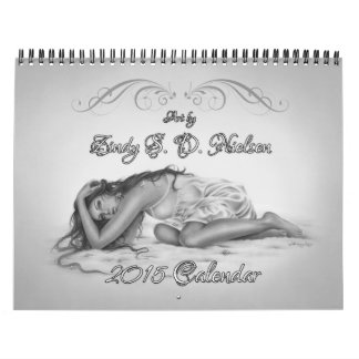 Arte de Zindy de 2015 calendarios