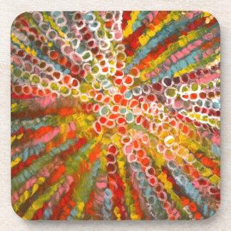 Arte decorativo de Anca Sofía: Colorea el juego Posavasos De Bebidas