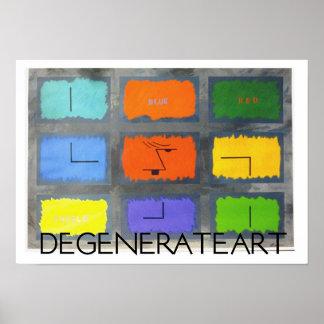 Arte degenerado póster
