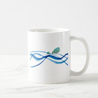 arte del agua: pescados del padre, pescados del ni taza de café