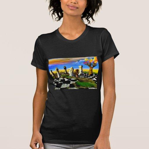 Arte del ajedrez camisetas