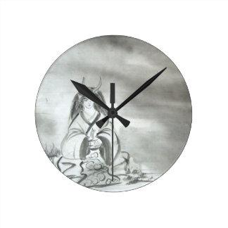 Arte del alcohol de la montaña de Oni del japonés Relojes