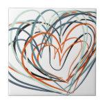 Arte del amor azulejo cerámica