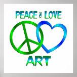 ARTE del amor de la paz Impresiones