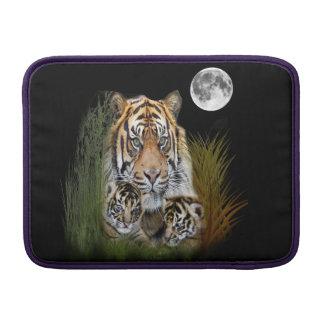 Arte del animal del tigre funda para macbook air