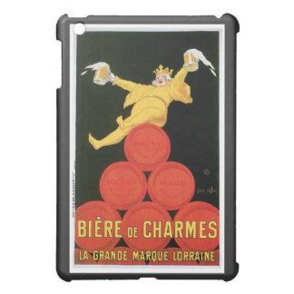 Arte del anuncio de la bebida de Biere De Charmes