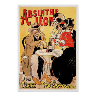 Arte del anuncio de la bebida del vino del vintage póster