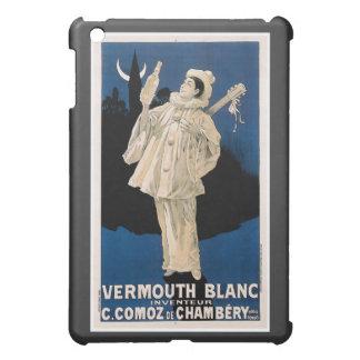Arte del anuncio de la bebida del vintage de Blanc