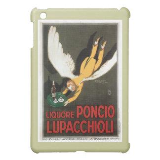 Arte del anuncio de la bebida del vintage de Liquo