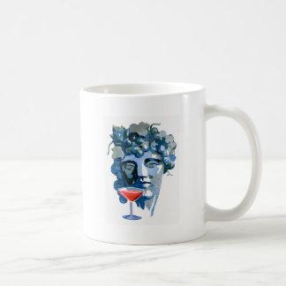 Arte del anuncio de la bebida del vintage del cóct taza de café