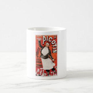 Arte del anuncio de la comida de Le Picotin Vintag Taza De Café
