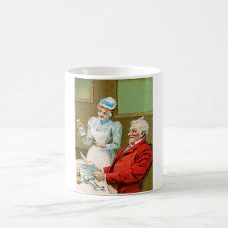 Arte del anuncio de la comida del vintage de las s tazas