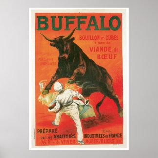Arte del anuncio de la comida del vintage de los c póster