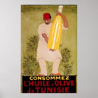 Arte del anuncio de la comida del vintage del acei póster