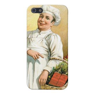 Arte del anuncio de la comida del vintage del coci iPhone 5 cárcasa