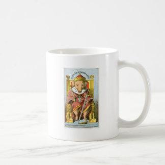 Arte del anuncio de la comida del vintage del jamó tazas de café