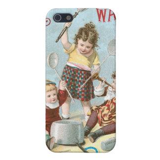 Arte del anuncio del libro de cocina del vintage d iPhone 5 funda