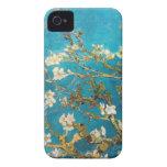 Arte del árbol de almendra de Vincent van Gogh iPhone 4 Cobertura
