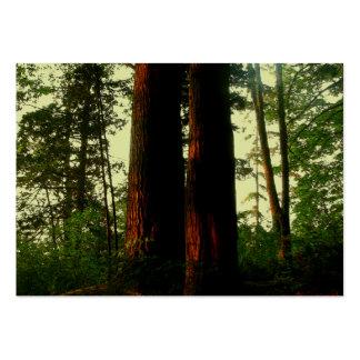 Arte del árbol plantilla de tarjeta personal