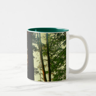 Arte del árbol tazas de café