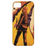 Arte del arma de Hawkeye iPhone 5 Case-Mate Cobertura