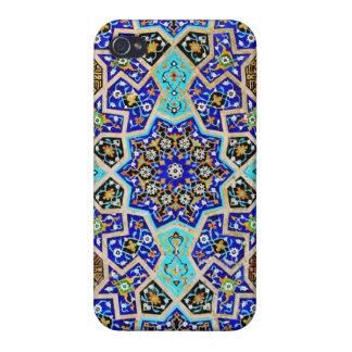 Arte del Azteca del vintage iPhone 4/4S Carcasas