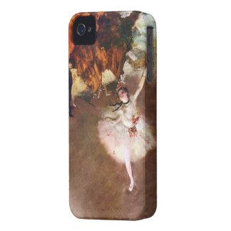 Arte del ballet del vintage, bailarina de Prima de iPhone 4 Case-Mate Carcasa