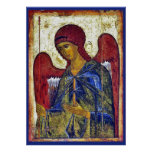 Arte del bizantino de Gabriel del arcángel Posters