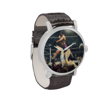 Arte del boxeo relojes de pulsera