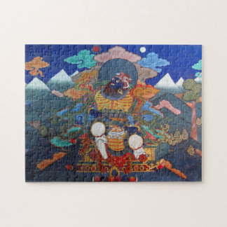 arte del budista del paro rompecabeza