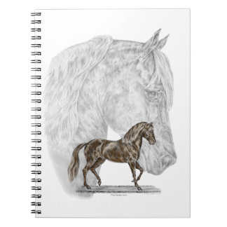 Arte del caballo de Paso Fino Libro De Apuntes