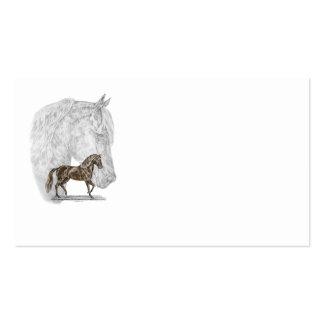 Arte del caballo de Paso Fino Tarjetas De Visita