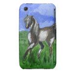 Arte del caballo del pinto del soñador Case-Mate iPhone 3 fundas