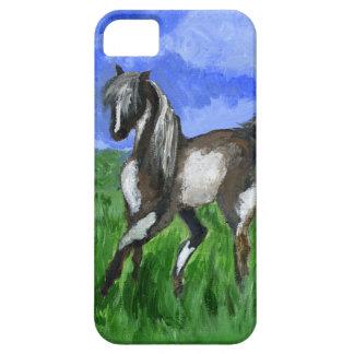 Arte del caballo del pinto del soñador funda para iPhone 5 barely there