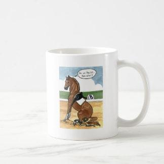 Arte del caballo EN EL PEDAZO ahora qué Taza De Café