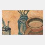 Arte del café - primera cosa por la mañana pegatinas