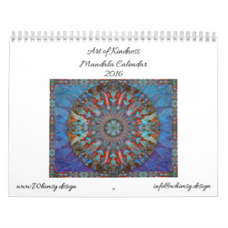 Arte del calendario 2016 (de la mandala de la