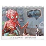 Arte del calendario de Eric Wayne 2015