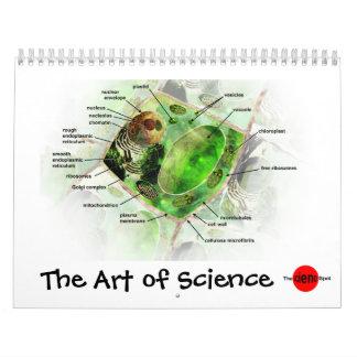 Arte del calendario de la ciencia
